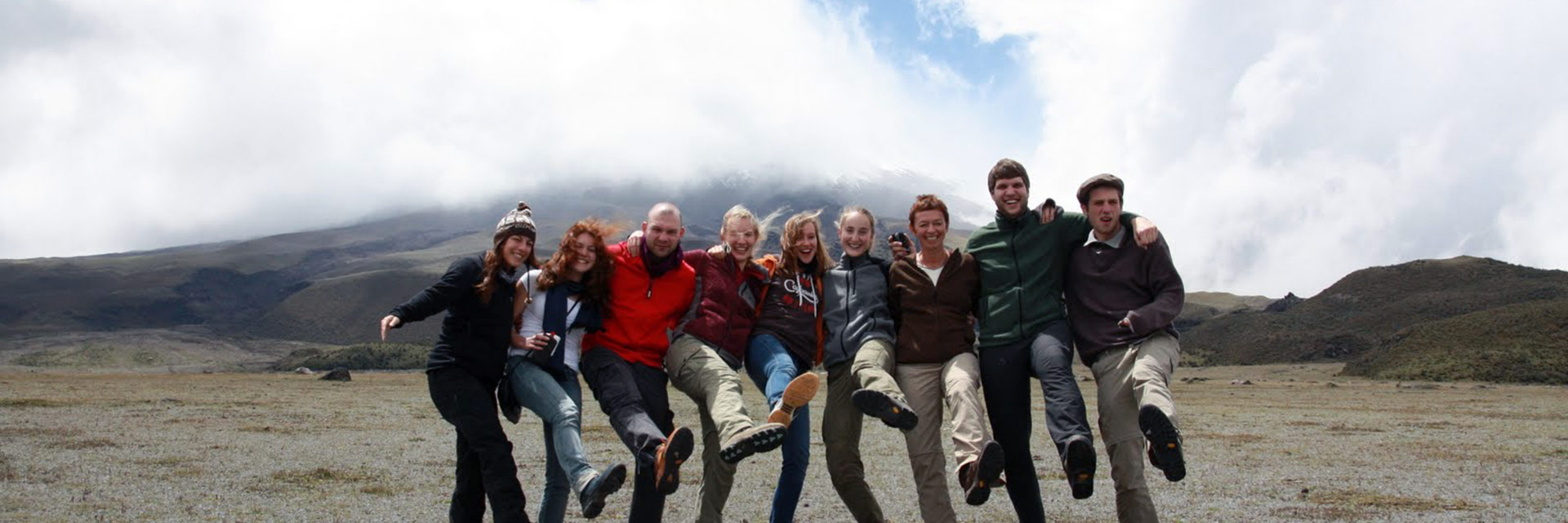 Spanish students on Cotopaxi - © Janine Reichel