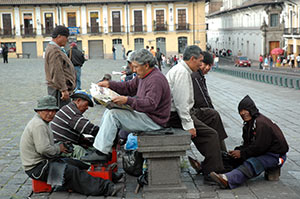 Shoe cleaner in Quito